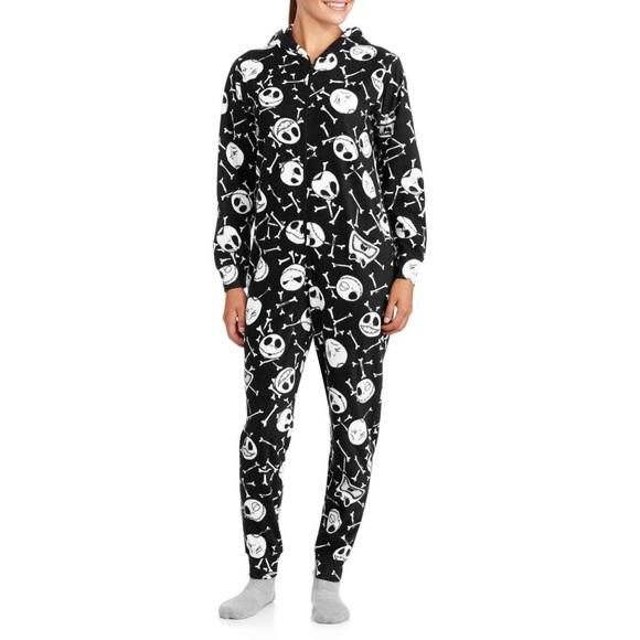 Christmas Pajamas Onesie.Nightmare Before Christmas Adult Onesie Pj